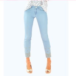 NWT Lilly Pulitzer South Ocean Skinny Jeans